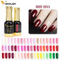 #60751 Venalisa Gel Polnischen 111 Farben gold flasche lange anhaltende salon Farbe Coat Soak Off UV & LED 12ml Nagel Gel polnisch