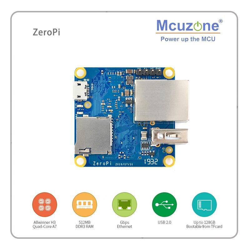 RiendlyARM NanoPi ZeroPi 512MB RAM Gbps Ethernet Cortex A7 Development Board Allwinner Mini Linux Board Pi Zero