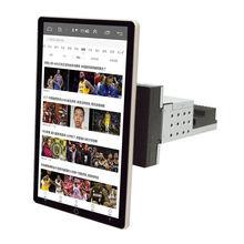 Autoradio avec écran rotatif de 10 pouces, 1 go/16 go, Navigation GPS, wifi, mirrorlink, lecteur multimédia vidéo, 1 Din