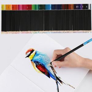 Image 2 - 72pcs 수채화 물감 아티스트 스케치 페인팅 전문 수용성 컬러 연필 학교 학생 아티스트 아트 용품