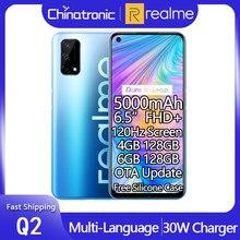 W magazynie realme Q2 128GB 5G telefon komórkowy 6.5