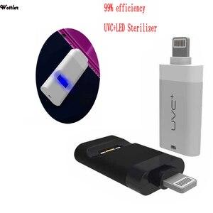 Przenośna dezynfekcja UVC UV LED Light telefon komórkowy interfejs USB wtyczka Uv Sterlizer Cabina desefectante dla Iphone Huwei Masque