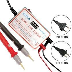 Testador conduzido novo 0-300v da medida da ferramenta do teste dos grânulos das tiras do diodo emissor de luz da lâmpada e da tevê do verificador multiuso