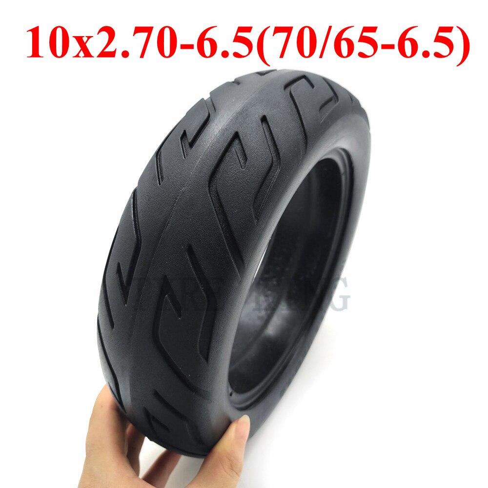 Neumático de equilibrio para patinete eléctrico, neumático sólido no neumático, 10x2.70-6,5, 70/65-6,5