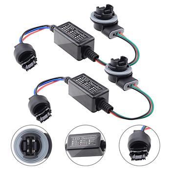 2PCS Birne Last Widerstand Canceller Decoder Für LED Blinker Licht 3157/ 4157