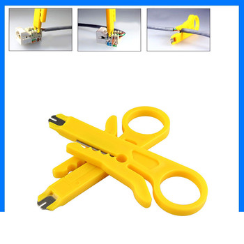 30^2pcs Tool Network UTP LAN Cable Wire Cutter Stripper Tool Wire Stripper Pliers Cable Cutter Stripper RJ45 Cat5 Punch Down image
