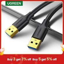 Ugreen USB zu USB Verlängerung Kabel Typ A Stecker auf Stecker USB 3,0 2,0 Extender für Heizkörper Festplatte TV box USB 3,0 Kabel Verlängerung
