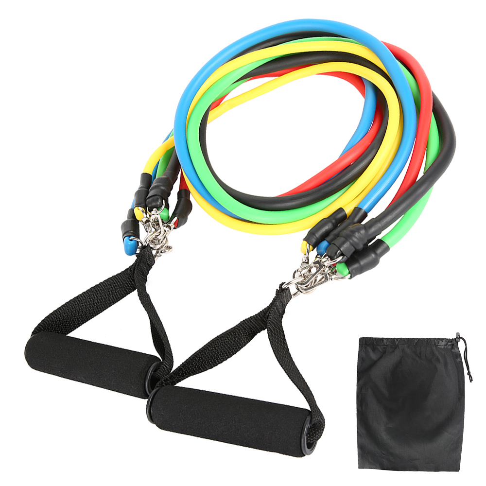 11-13pcs Fitness Resistance Bands 11