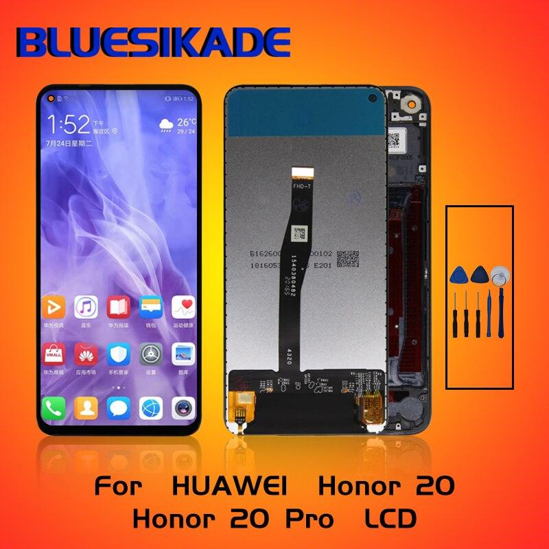 """6.26 """"pour Huawei Honor 20 LCD YAL-L21L61A L61D L71A Remplacement de Convertisseur Analogique-Numérique Décran Tactile daffichage à cristaux liquides Pour Huawei Honor 20 Pro Affichage"""