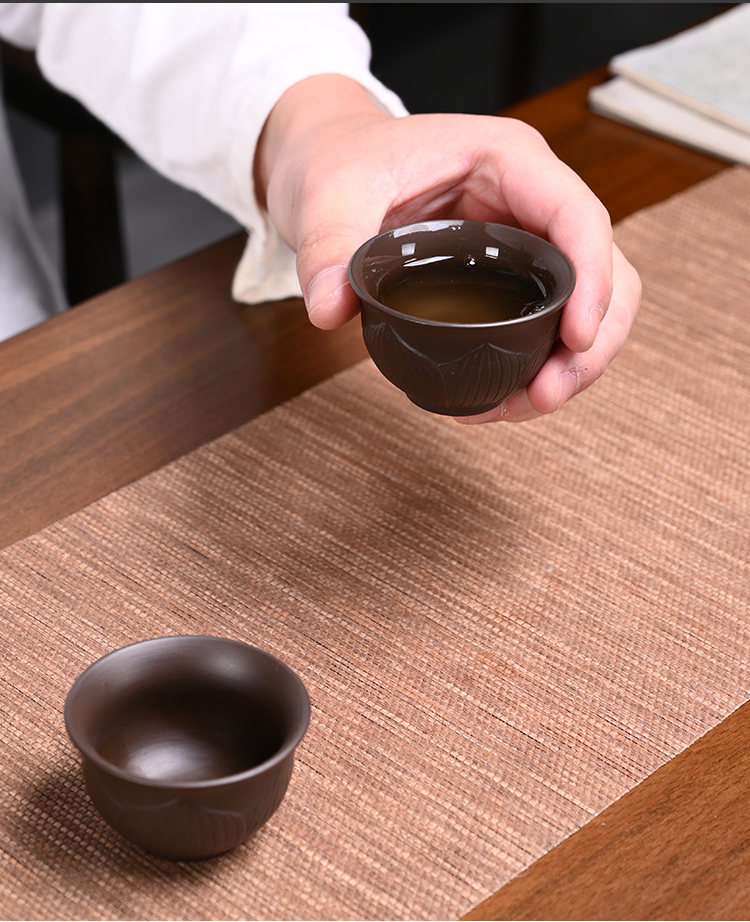 Conjunto de chá yixing xícara de chá