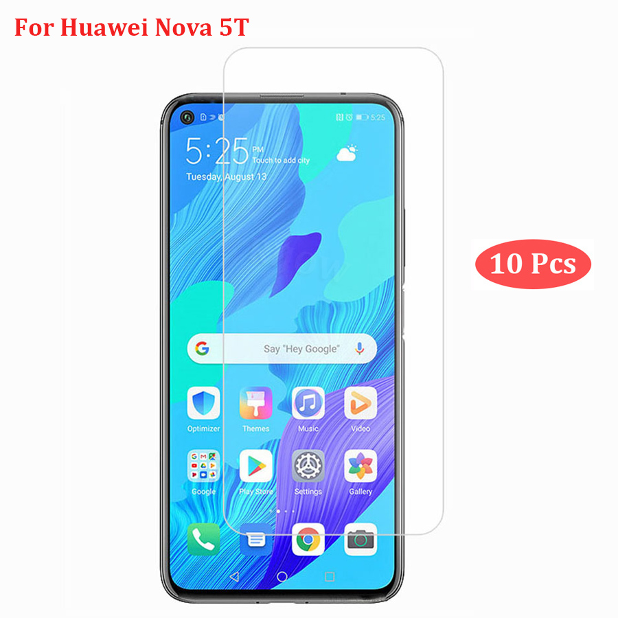 10 PCS Tempered Glass For Huawei Nova 5T Glass Anti Screen Protector For Huawei Nova 5T Film Glass Nova5t Glass