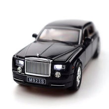 Six Doors-Open Rolls-Royce Metal Model High-Scale Simulation Vehicle Alloy Toy Gift For Children 1/24