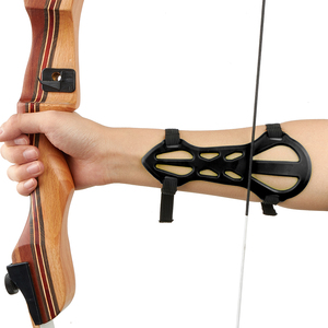 Archery Arm Guard for Traditional Hunting Recurve Bows Shooting Training Protector