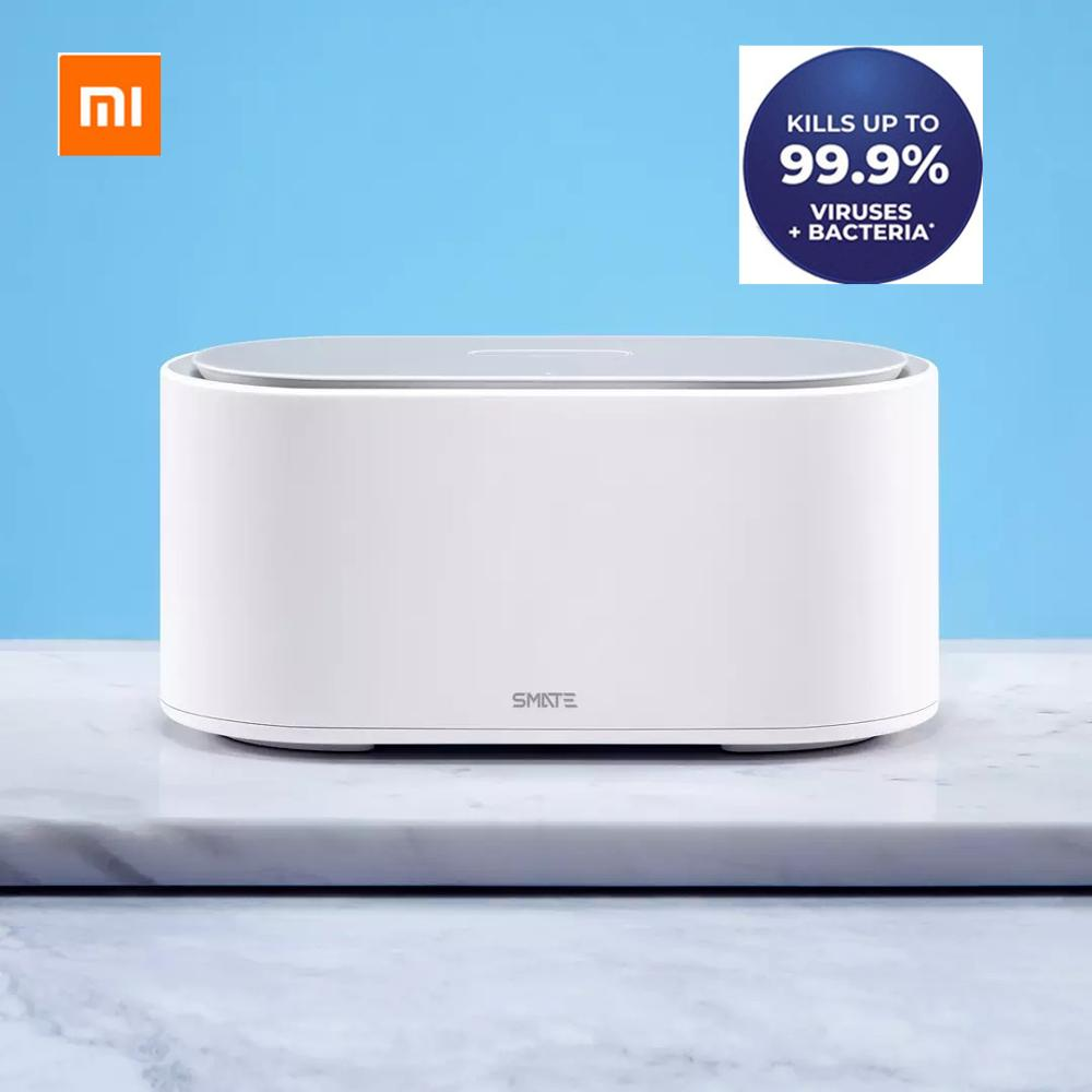 Xiaomi Mijia SMATE White UV LED Light Drying Sterilizer 99.9% Sterilization Three Modes Hot Air Drying One Button Operation