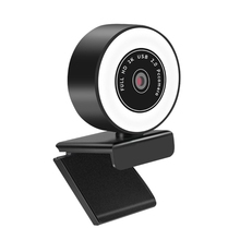 Ring-Light Webcamera Microphone 1080PHD Built-In with Usb-Plug