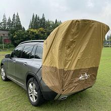 سيارة متعددة الوظائف جذع خيمة ظلة غير نافذ للمطر الخلفية خيمة بسيطة متنقل للقيادة الذاتية جولة الشواء التخييم اكسسوارات