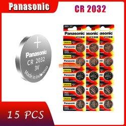 15 X original marke neue batterie für PANASONIC cr2032 3v taste cell-münze batterien für uhr computer cr 2032