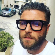 Мужские и женские очки в квадратной оправе shauna большие оптической