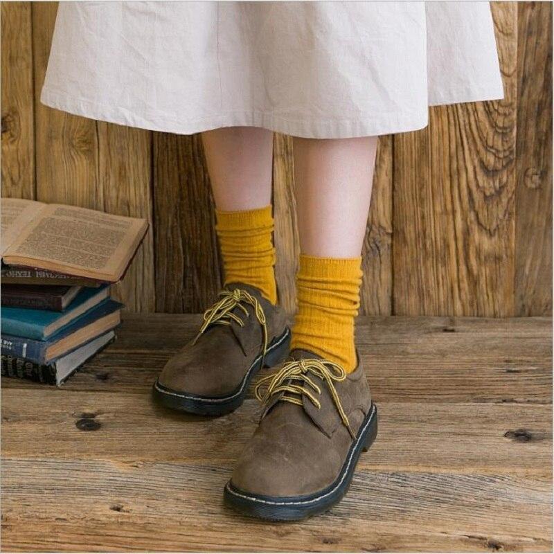Chaussettes coton classiques pour femme