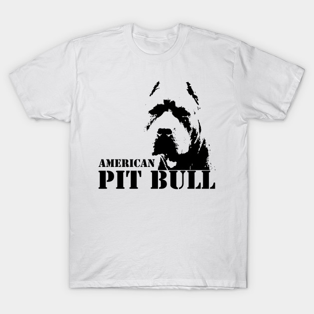 Мужская футболка, Американская футболка питбуля, Женская Мужская футболка