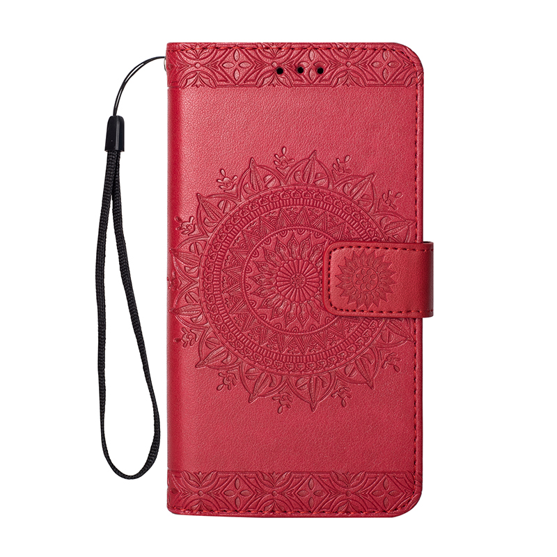 Retro Flip PU Leather Totem pattern Case For Apple iPhone 11 Pro Max 2019 X XR XS MAX 8 7 6 6S Plus 5 5S SE Leather Cover Shell