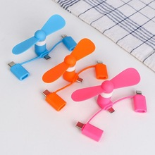 Mini Fan Cooling-Cooler Cell-Phone Micro-Usb Travel Android iPad Type-C Portable