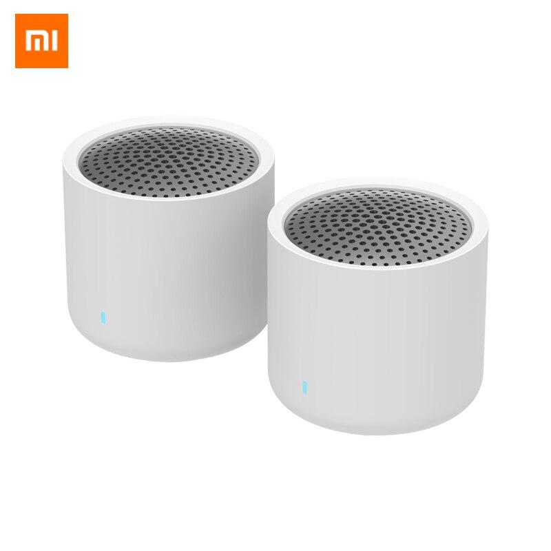 Original Xiaomi Portable Tws Bluetooth 5 0 Speaker 2pcs Mini 2 0 Real Wireless Stereo Bass Subwoofer With Hd Mic Speaker Set Portable Speakers Aliexpress