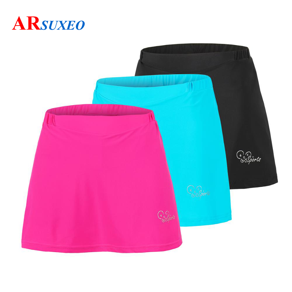 ARSUEXO Women Mountain Bike Skirt MTB Cycling Shorts Tights 2-in-1 With 3D Gel Padded Liner Bicycle Underwear Clothes Reflective