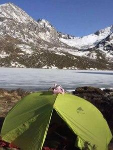 Image 5 - 3F UL GEAR 2 osoba 3/4 sezon 15D namiot kempingowy na zewnątrz wodoodporny ultralekki namiot turystyczny z plecakiem