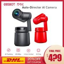 Obsbot Đuôi Tự Động Giám Đốc Ái Camera Theo Dõi Zoom Tự Động Chụp Lên Đến 4 K/60fps VS Insta360 Một Trong X EVO 360 Camera