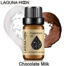 Lagonamoon 10ml olejek zapachowy Gardenia czekolada mleko jaśmin pomarańczowy kokosowy ogórek olejek z paczuli świeże powietrze dyfuzor bomba kąpielowa