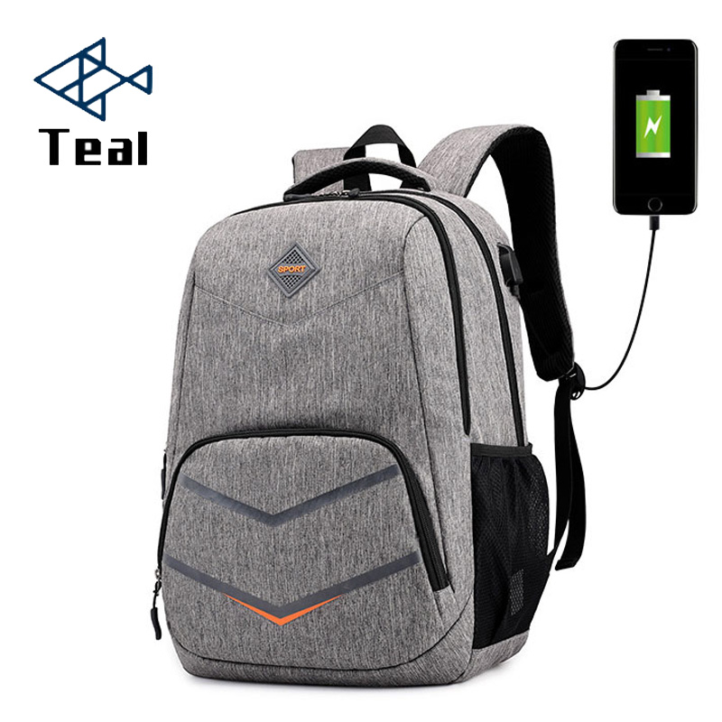 Men Backpack Oxford Male Travel Bag Backpacks Fashion Men And Women Usb Student Bag Laptop Bag High Capacity Backpack