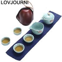 Dekoration Mutfak Aksesuarlari Pot Gongfu Kitchen Keukenhulpjes Garden China Teaware Home Decoration Accessories Chinese Tea Set|Teaware Sets| |  -