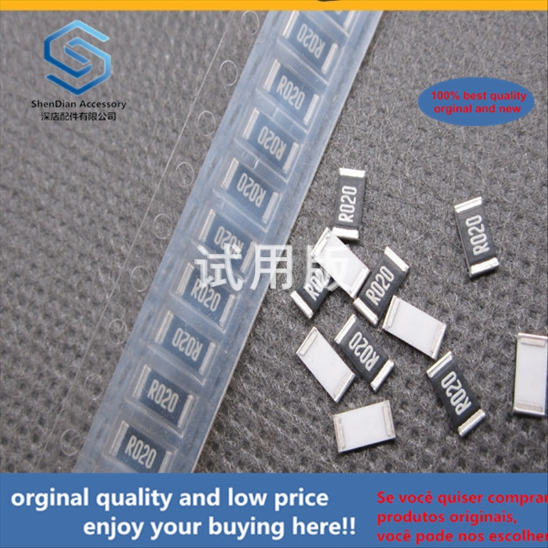 50pcs 100% Orginal New Best Quality SMD Resistor 2010 R020 0.02R Ohm 20 Milliohm Accuracy 1%