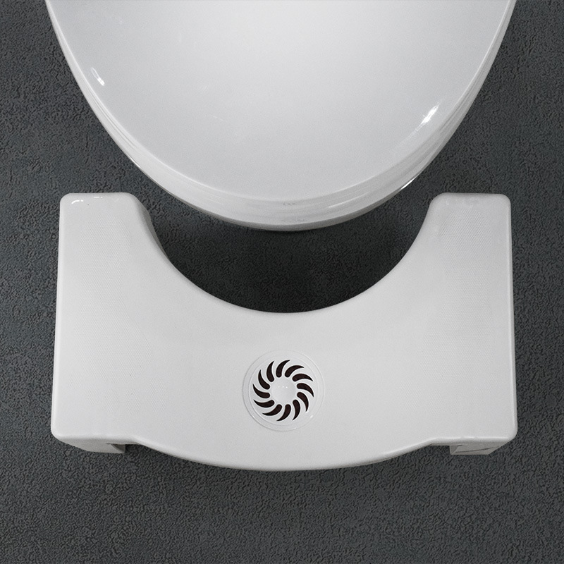 Home Folding Squatting Stool Bathroom Squat Toilet Stool Compact Squatty Potty Stool Portable Step Seat For Home Bathroom Toilet