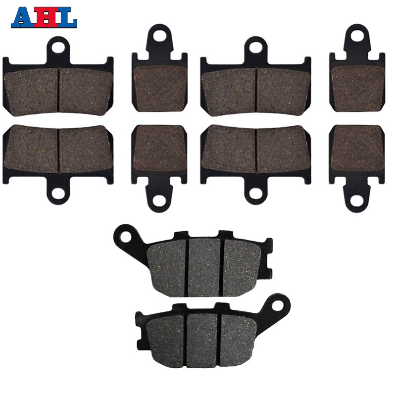 Rear-Brake-Pads Street-Bikes Motorcycle Front YAMAHA 2007 for Yzf-R1 2009 2008