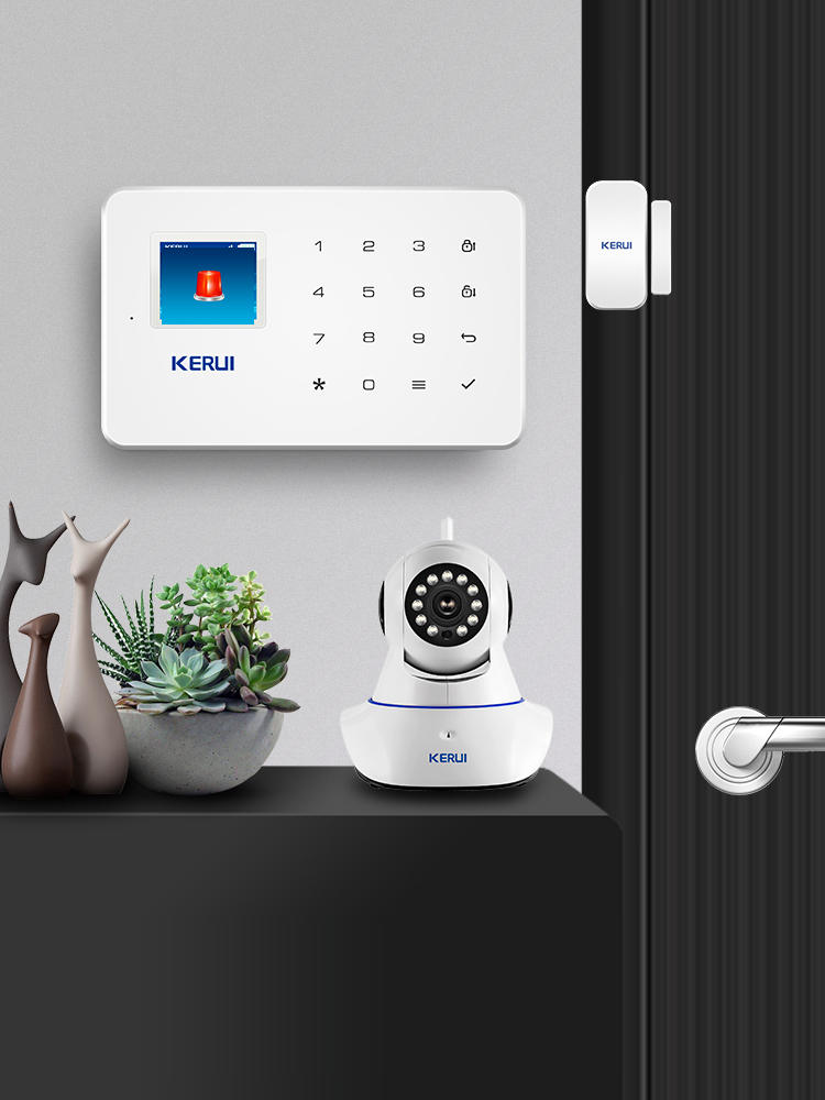 Security-Alarm-System-Kit Auto-Dial-Motion-Detector-Sensor App-Control SMS Burglar Anti-Theft