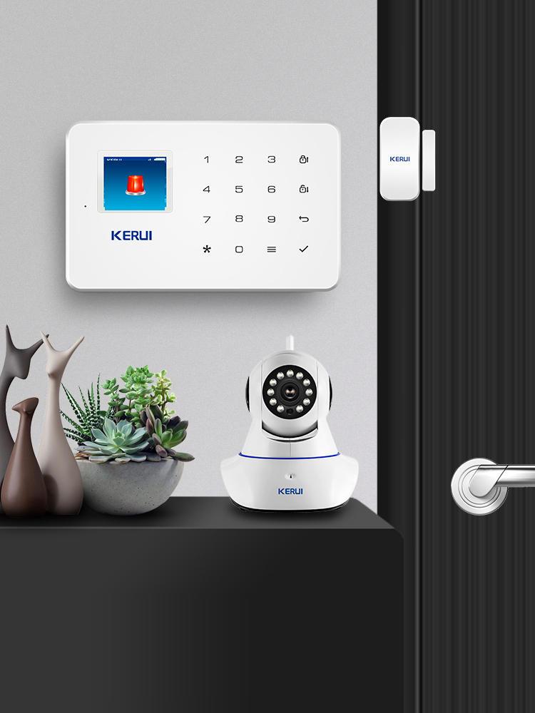 Security-Alarm-System-Kit Auto-Dial-Motion-Detector-Sensor App-Control SMS Burglar Anti-Theft