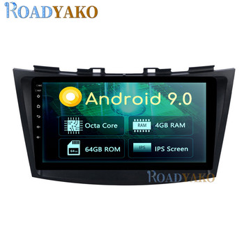 9'' Android Car Navegación GPS For Suzuki Swift 2010-2015 Stereo Auto Car Radio Multimedia Video Player 2Din Autoradio магнитола image