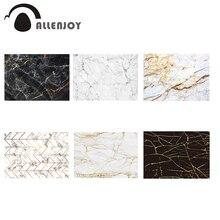 Allenjoy mármore pano de fundo aniversário chá de fraldas padrão abstrato simplicidade luxo fundo selfie banner vinil photobooth