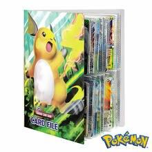 Album de jeux Pokemon, 240 pièces, porte-cartes, classeur, entraîneur de dessin animé, livre de cartes, à collectionner, liste chargée, jouets pour enfants, cadeau