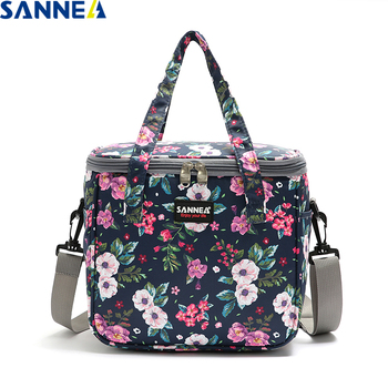 SANNE 2020 Colorful New fashion 7L cooler bag thermal diagonal/portable waterproof insulated picnic lunch