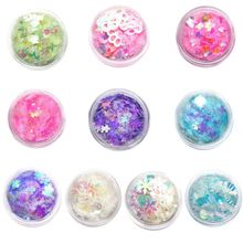Glitter Sequins Mix DIY Handmade Crystal Epoxy Mold Quicksand Candy Color Decoration Jewelry Making Filler