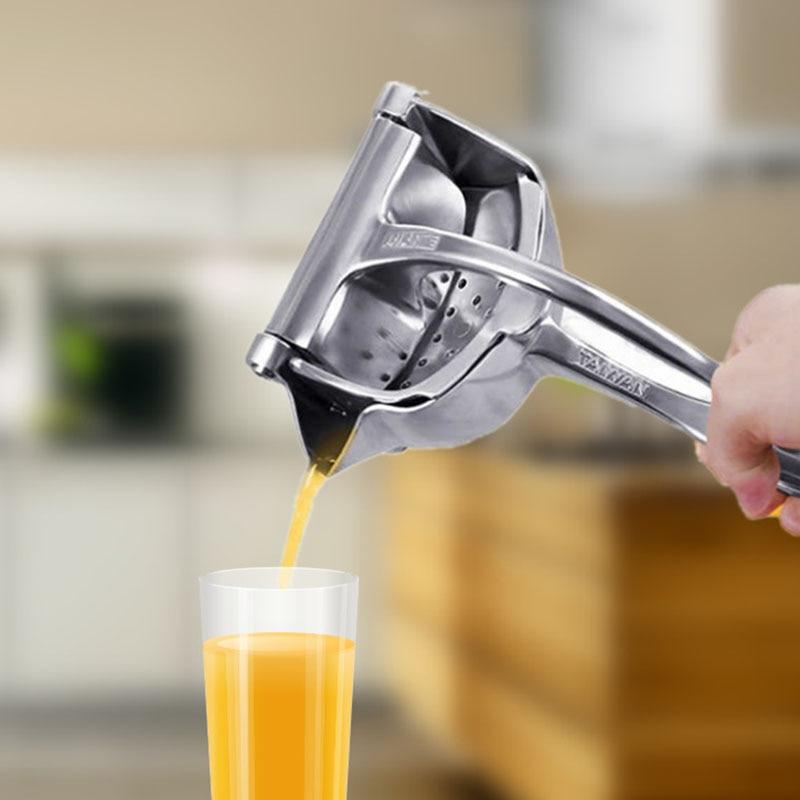 Manual Juicer Hand Juice Press Squeezer Fruit Juicer Extractor Aluminum Alloy Manual Juicer Manual Food Processors