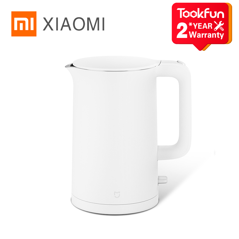 2021 New XIAOMI MIJIA Electric kettle fast boiling stainless teapot samovar kitchen Water Kettle Mi home 1.5L Insulation