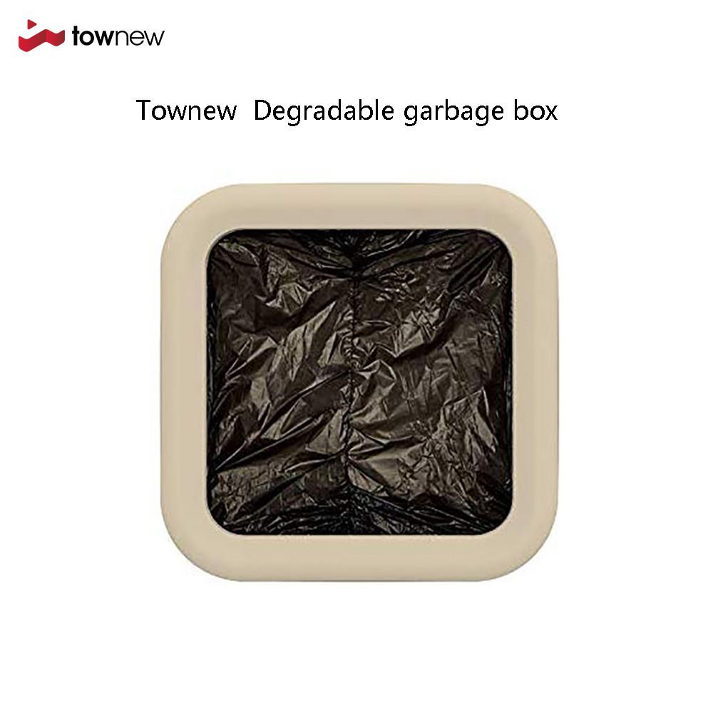 Townew Official Biodegradable Refill Rings For Smart Kitchen Trash Can | Durable Garbage Bags For Townew Electric Trash Can