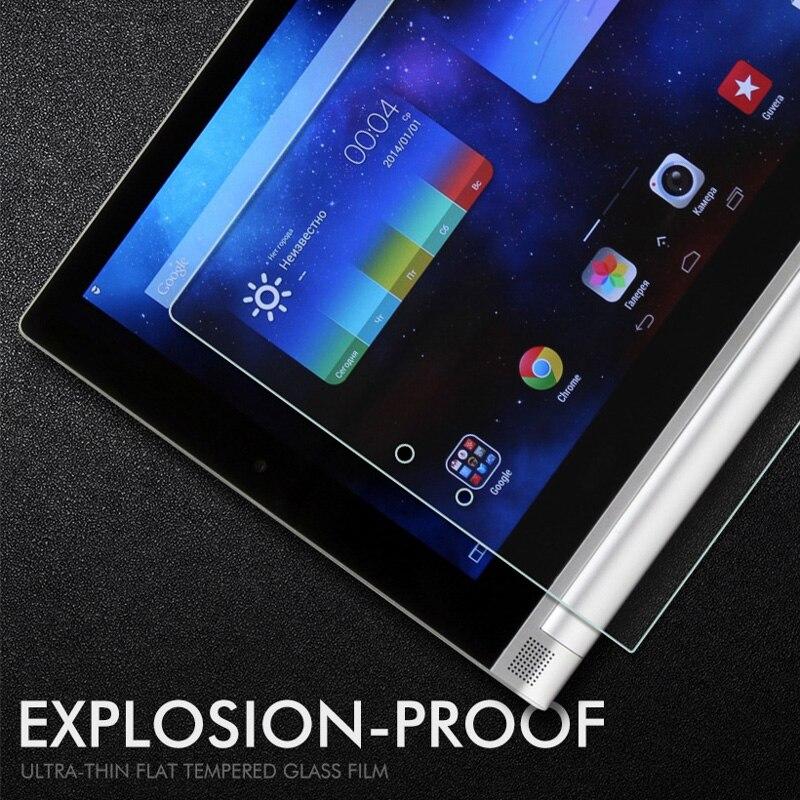 Galleria fotografica Tablet Screen Protectors For Lenovo Ideapad Miix 310 Tempered Glass Tablet 2 Yoga Tab 3 10 8.0 Tab 3 Plus 4 7 Miix 320 Tab3 10.1