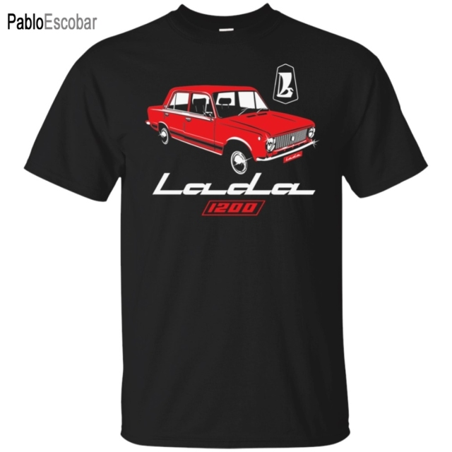 Lada 1200 Soviet Union Car Ussr Cccp Kopeyka Vaz-2101 T-Shirt mens Tee Shirts Fashion shubuzhi Men 4XL 5XL Hip Hop