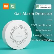 Original xiaomi mijia honeywell detector de alarme gás controle zigbee mi kits casa inteligente sensor trabalho para xiaomi hub gateway 3