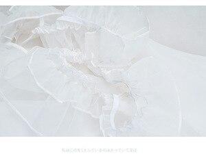 Image 5 - Bella Organza Bolla Trasparente Vestito Complessivo Della Bretella del Vestito Lolita Nake Grembiule Sexy del Vestito Della Biancheria Della Bamboletta del Costume